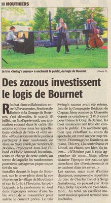 La Charente Libre du 19 juillet 2014