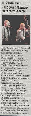 La Charente Libre du 29 juillet 2015