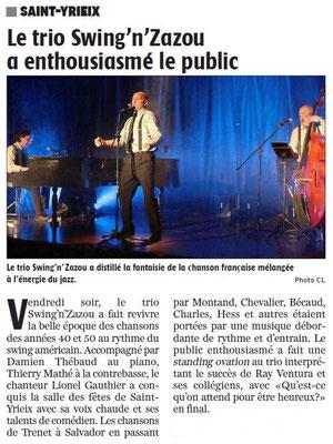 La Charente Libre du 21 novembre 2017
