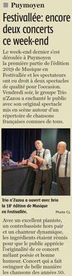 La Charente Libre du 14 février 2019