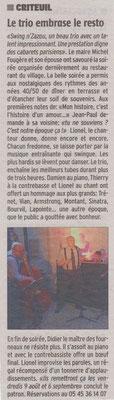 La Charente Libre du 10 juillet 2013
