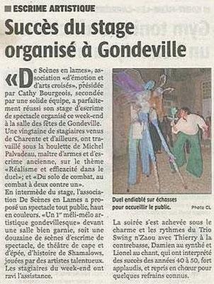 La Charente Libre du 29 novembre 2013