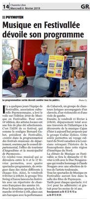 La Charente Libre du 6 février 2019