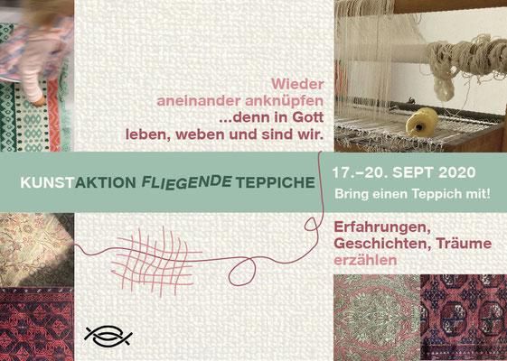 Titel Flyer Veranstaltung Fliegende Teppiche