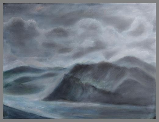 Ölbild, 50 x 70 cm nach Foto von Rolf Schuchmann