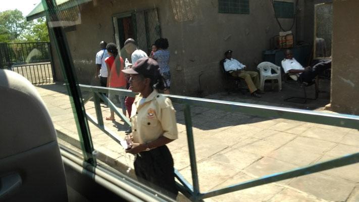 Poste frontière Livingstone