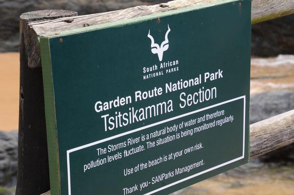 Tsitsikamma Park