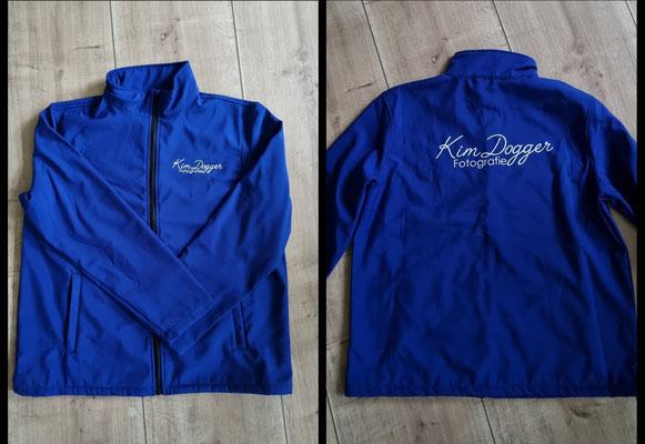 Shoftshell jas voor Kim Dogger fotografie