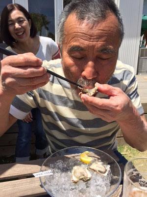 牡蠣の食べ比べ~