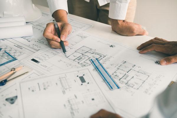 Les plans, le projet
