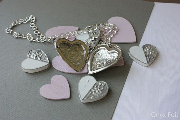 """Heart-shaped locket"""