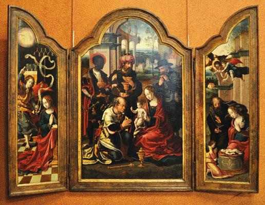 L'Adoration des Mages, Ecouen, Musée de la Renaissance