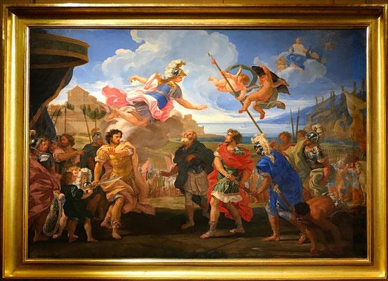 Baciccio, La querelle d'Achille et d'Agamemnon, 1685-1695, huile sur toile, 149,5 cm x 225 / MUDO