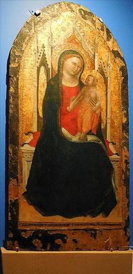 Anonyme, Vierge en majesté / Abbaye de Chaalis