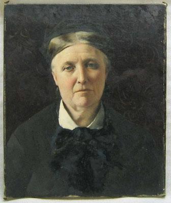 Aviat Jules, Portrait de Marie Marguerite Aviat, mère de l'artiste / Ville de Périgueux