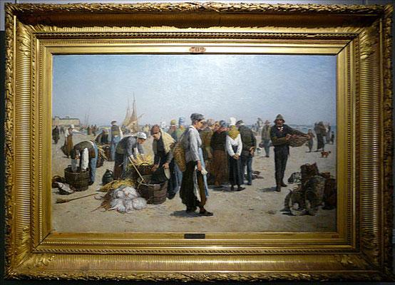 Dubourg, Marché aux poissons, 1876 (JH)