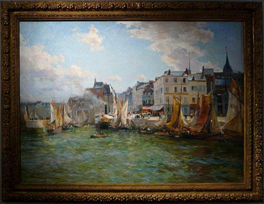 Petitjean, Entrée du Port, 1908 (JH)