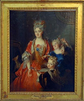 Nicolas de Largillière, Mme Jassaud et ses enfants / Photo Musée Boucher-de-Perthes, Abbeville