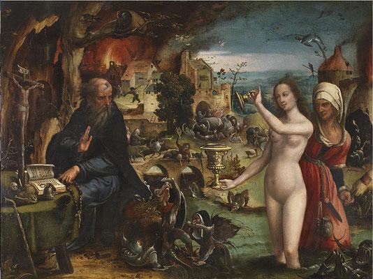 La tentation de Saint-Antoine, Musée National du Prado