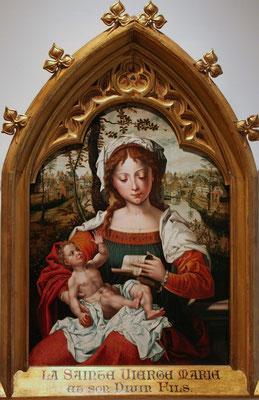 Vierge à l'Enfant, Le Grand Curtius, Liège
