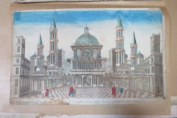 Constantinople, Basilique Sainte-Sophie / Abbeville, Musée Boucher-de-Perthes