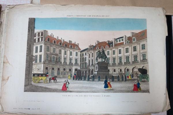 Paris, Place des Victoires / Abbeville, Musée Boucher-de-Perthes
