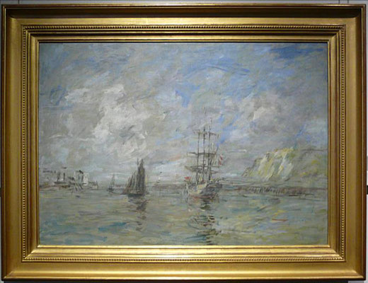 Boudin Eugène, Port de Dieppe, 1896 (JH)