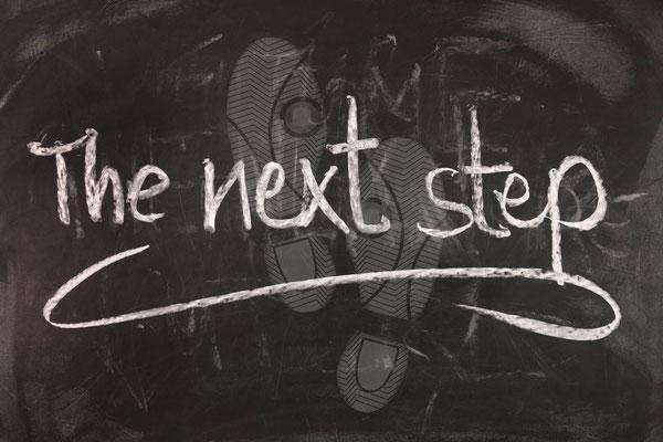 Der erste Schritte kann der schwerste sein?!