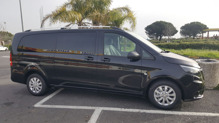 New Mercedes Vito Tourer 8 seater