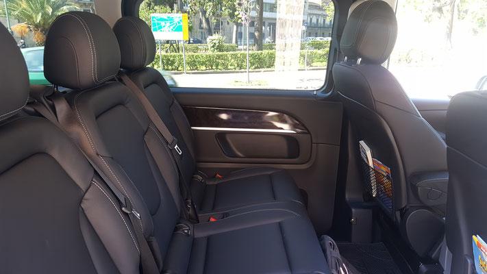 New Mercedes V Class 7 posti