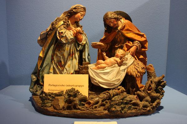 Portugiesische Geburtsgruppe, derzeit im Bayerischen Nationalmuseum