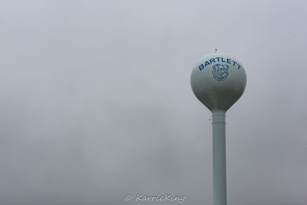 Water towers have specific names based on their shape...this style is called a