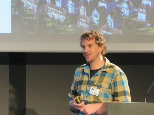 Urs Gisler informiert über Cloud Computing
