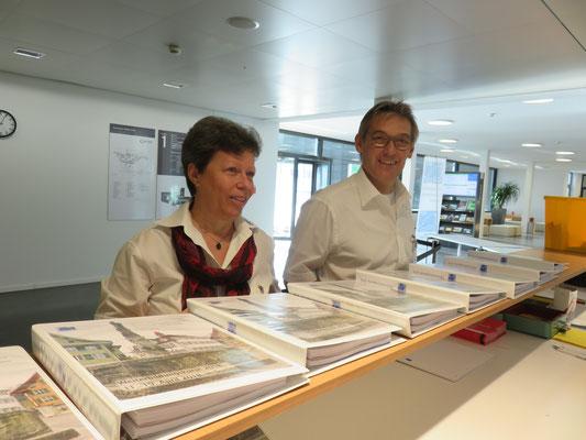 Franziska Meier und Walter Schuler vom SBV Vorstand