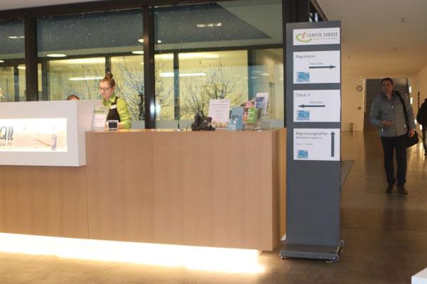 Reception Campus Sursee