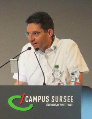 Präsident Konrad Schmid