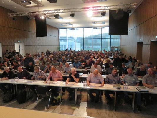 der Saal mit 280 Teilnehmern