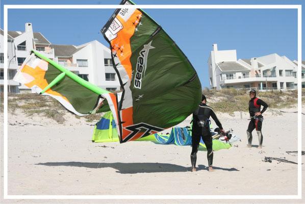 Windsurfing in Milnerton