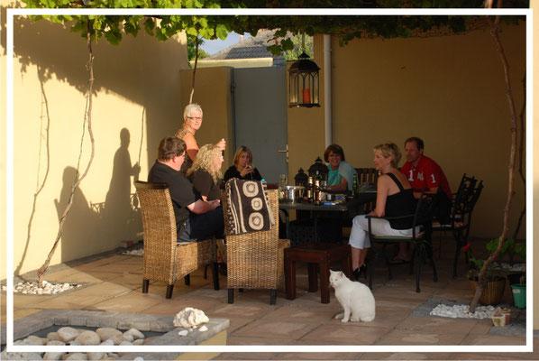 Make new friends at La Roche Guesthouse