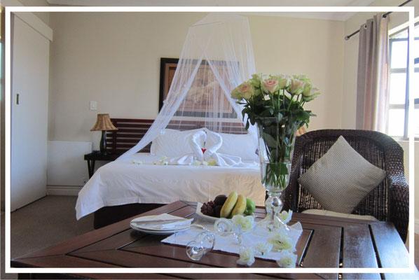 Honeymoon decoration at La Roche