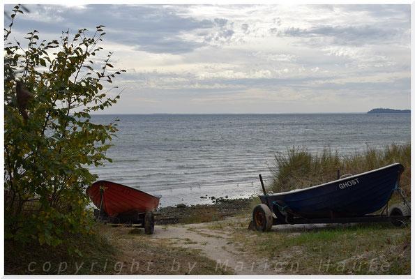 Am Strand zwischen Lobber Ort und Göhrener Perd.