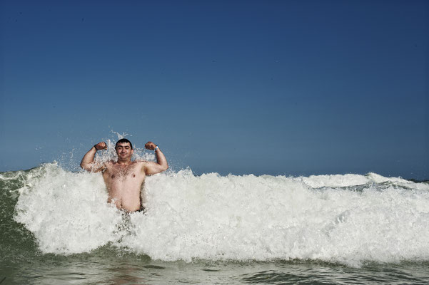 Austrian Olympic weightlifter Sargis Martirosyan, Rio de Janeiro 2016