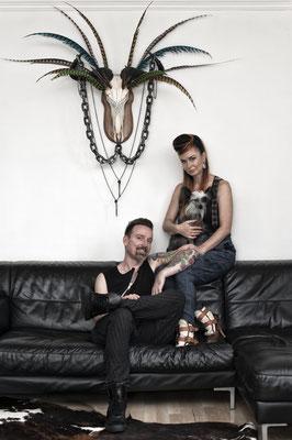 "Designers Max & Doris from ""No wear"", London 2015"