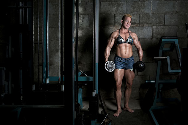 Caroline Wang, Worldchampion Bodybuilding, Klagenfurt 2014
