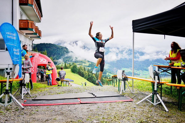 Freude und Kraft bis zum letzten Meter - Sigi Huber!
