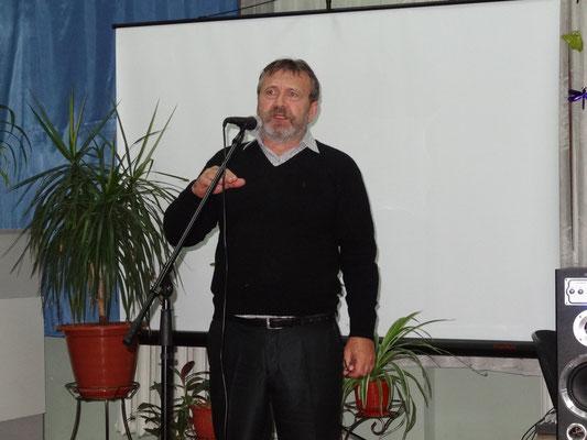 """Александр Докшин, художник, бард, директор творческого объединения """"Ковчег"""""""