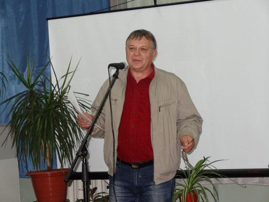 Сергей Афонин, шахтинский поэт