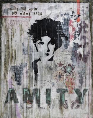 """""""Leaving Amity-Island"""", 95 x 125 cm auf Leinwand"""