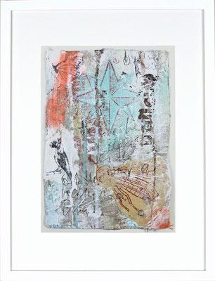 """And dance"", ca. 19 x 27 cm auf Leinwand"