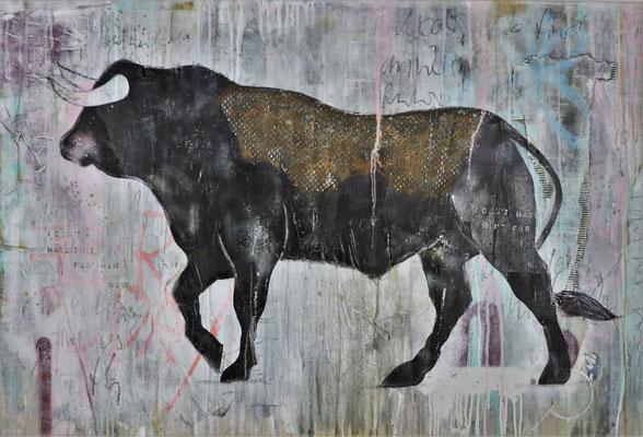 """No time for them"", 132 x 90 cm auf Leinwand"